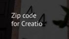 Zip code for Creatio
